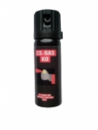 Spray CS cu gaz paralizant (iritant-lacrimogen)  KO 007 50 ml