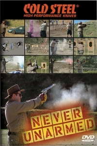 DVD Cold Steel - Never Unarmed  - set 6 dvd-uri cutite, arme, demonstratii, test, video