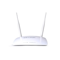Router Wireless LB-LINK 11N 300Mbps cu antena externa dubla 5dBi (BCM5357) WR2000