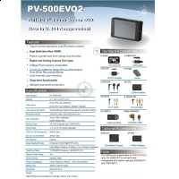 LawMate - DVR portabil Full HD PV-500EVO2U