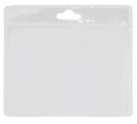 Port legitimatie plastic transparent 9.5cmx11cm
