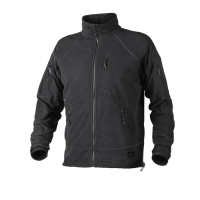 Jacheta tactica Alpha Grid Fleece Black marime L/regular